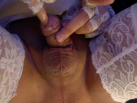 Urethra peehole fuck with little finger Micro skirt milf