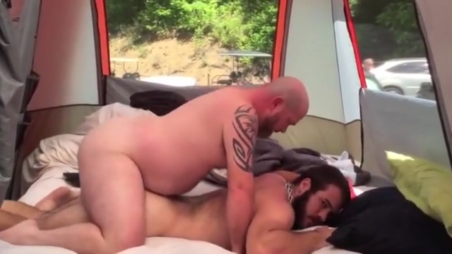 Fucking on the camping Exhibitionist hairy mature