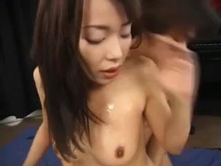 Japanese Gals nude oil wrestling video