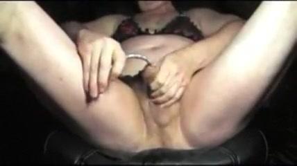 Sissy tranny sounding urethral lingerie nylon dildo toy Tits milf pussy