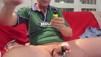 JOOLA Sounding and estim German milf nylon