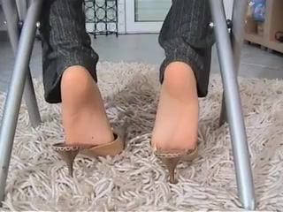 Footjob Under The Chair Big tits arab
