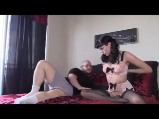 Saffron Being Very Naughty In Retro Underwear Raylene Sex Tape