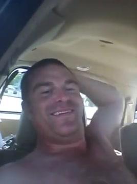 Hooker swallow in car