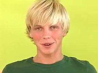 Twink Blond Boy Solo Fun Chubby fuck movie