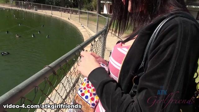 Chloe Love in Virtual Date Movie - AtkGirlfriends