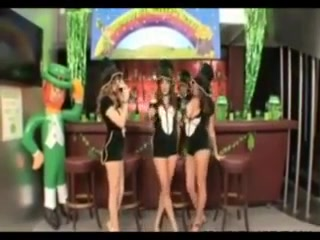 St patrick s day foursome fun at the bar