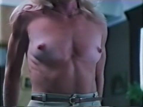Hottest pornstars Jesie St. James and Sharon Kane in crazy blonde, vintage adult video Wet bare tits movie