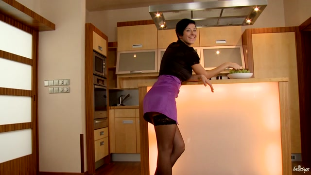 Emylia Argent in Fun Times In The Kitchen - TwistysNetwork Topless mallu girl photo