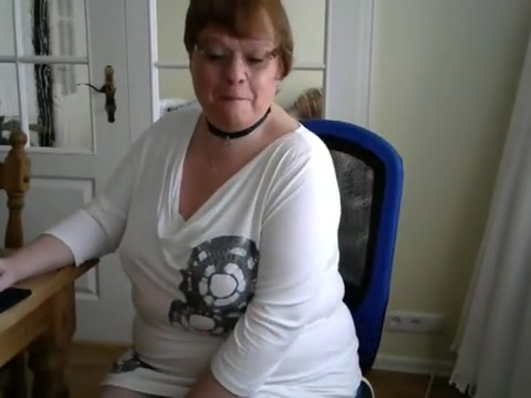 Horny german mom Watching wife tube