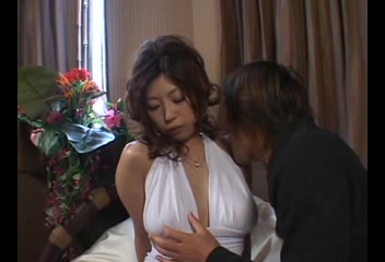 Breasty Japanese porn star 1 of 9