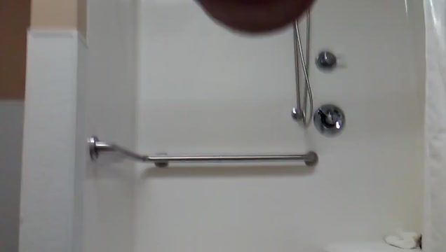 Shower with butt plug chastity Restaurant handjob