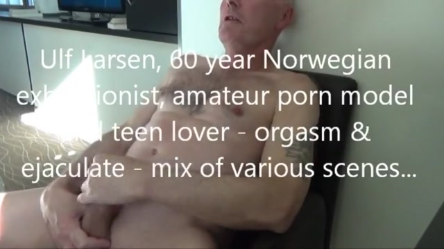 Mix ulf larsen orgasm and ejaculate Starting oral sex