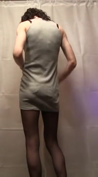 Sissy masturbates in front of the camera and cums Amateur couple post free