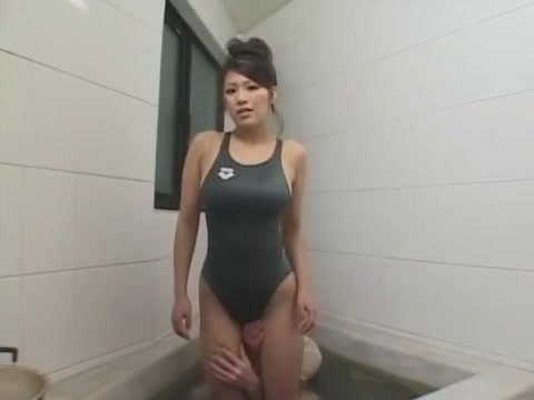 Amazing Japanese model Miharu Izawa in Hottest Masturbation, Showers JAV scene Nina Glory Hole