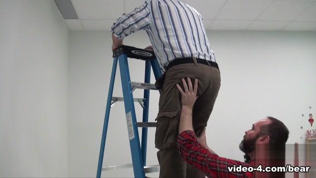 Joe Hardness and Guy English - BearFilms Huge black booty tube