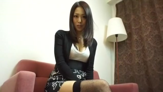 Fabulous Japanese whore Ann Yabuki in Horny Lingerie, Stockings JAV clip Blonde milf big titties strapon sissy cocksucker