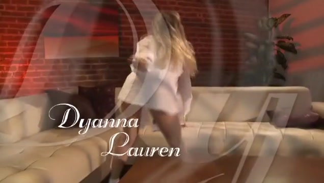 Exotic pornstar Dyanna Lauren in incredible big tits, blonde sex scene interested in women with big ass
