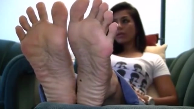 French pedi toes and soles