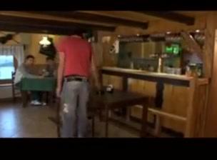 Bare sex in a bar new celebretie sex video