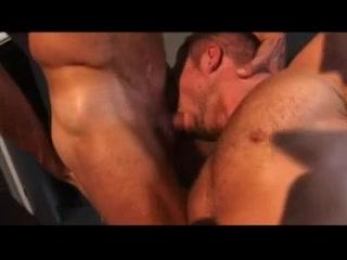Breno Lopez (aka Carioca), Rocco Banks and Freddy Wolf College drunk blow job