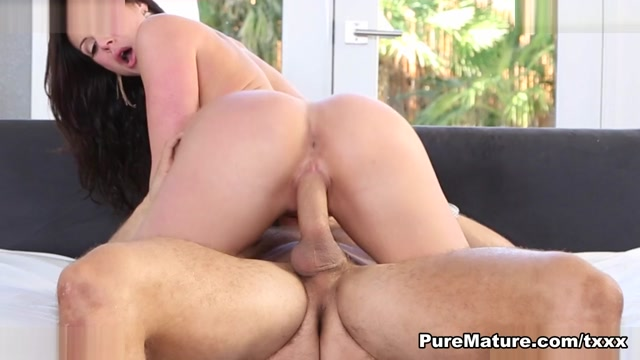 Audrey Irons in Work Hard Play Harder - PureMature