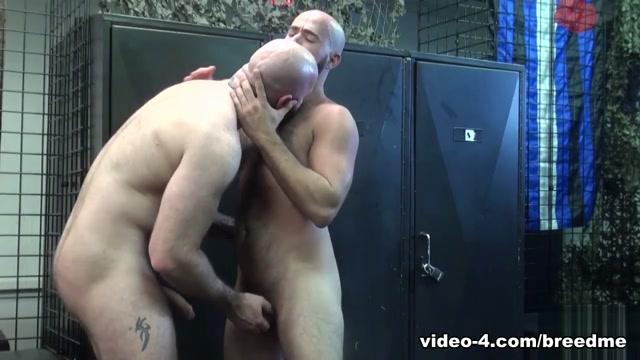Damon Andros and Luke Harrington - BreedMeRaw Lesbian amateurs share dildo during hazing
