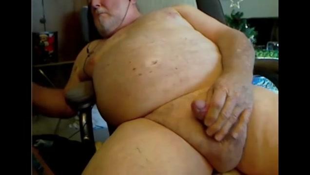 Grandpa cum on webcam 4 Unity Girl