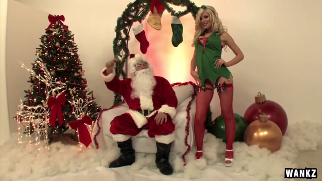 WANKZ- Oh So Bad Santa Pam anderson huge tits
