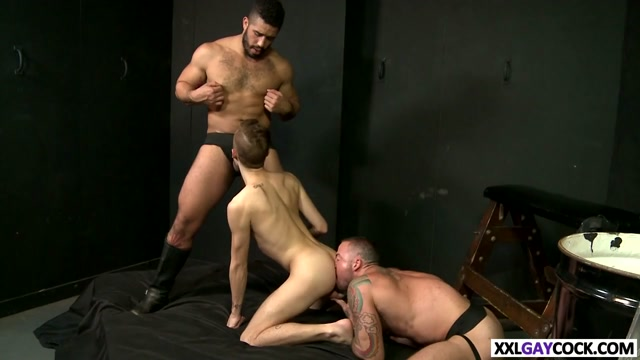 Three hot studs banging in the club porn sex dildo girl movie