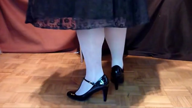 Wichsen mit straps und ballerinas black ghetto gagger video