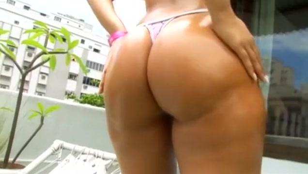Crazy pornstar Juliana Campos in horny interracial, big butt porn video