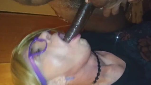 Bbc fucking this white gurls mouth and ass Crossdresser nylon stocking fetish
