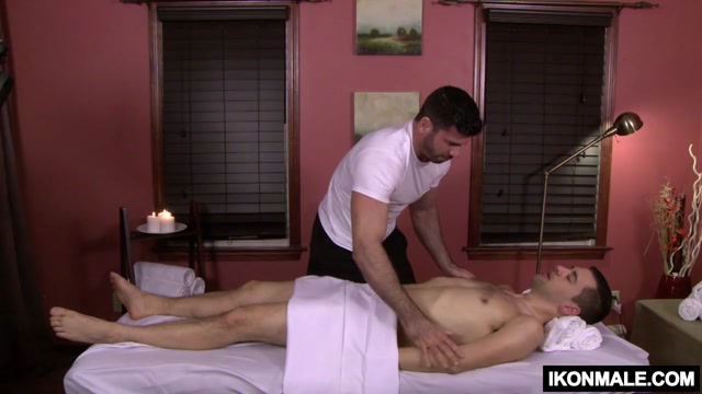 Josh Stone Gets A Wood During His Massage men and women having sex on the farm