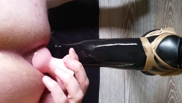 Huge dildo Abigaile Jonson Ass To Mouth