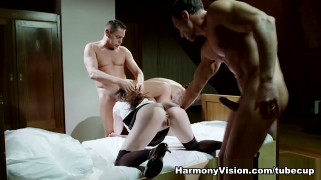 Samantha Bentley in Obscene Anal Gangbang - HarmonyVision Big Black Butt Porn