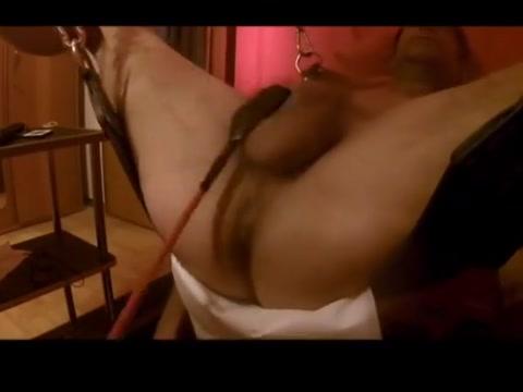 Playing with the balls and cock Natural tits hitomi tanaka