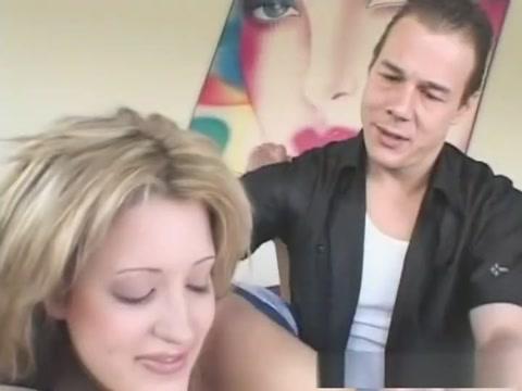 Best pornstar in crazy blonde, facial adult clip