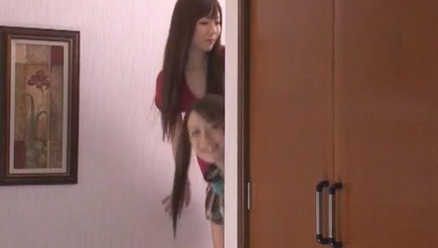 Horny Japanese girl Yu Asakura, Shiori Kamisaki, Shelly Fujii in Crazy Masturbation, Big Dick JAV scene
