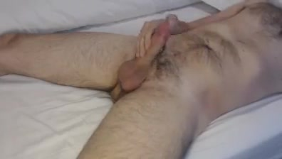 Handjob with cum, wanking my cock, cumshot Fuck buddy contract