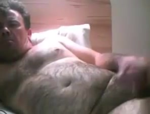 Mature daddy cum Big Cock And Big Balls