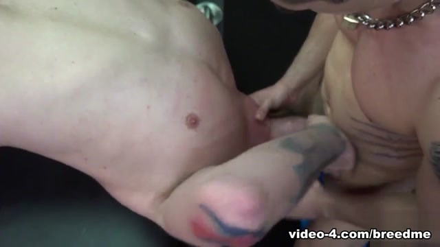 Diego Tovar and Beau Reed - BreedMeRaw Caged babe forced to give oral sex