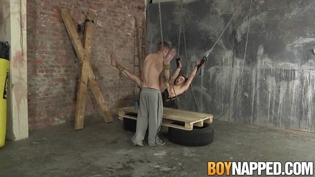 Dan Jenkins & Michael Wyatt in Dan Jenkins and Michael Wyatt have kinky bondage sex - BoyNapped Bangbros rough hardcore