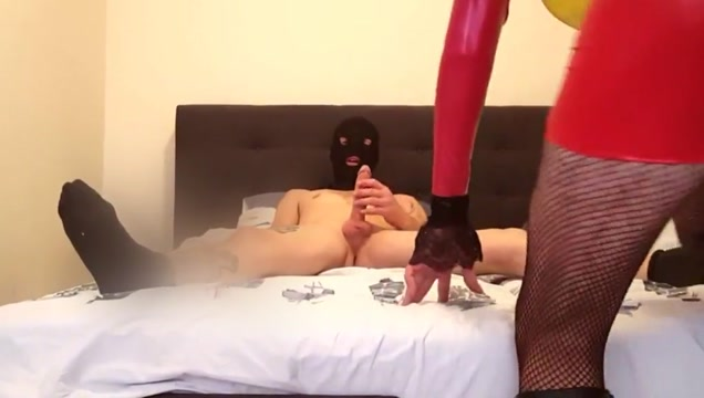 Suleika Latex Big Cock Guy in VERSA FUCKING sex with office staff