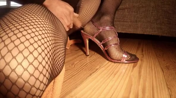 Fabulous amateur gay video with Crossdressers, Fetish scenes Huge natural amateur black tits and pussy