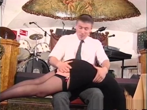 Exotic pornstar in horny spanking, mature xxx clip