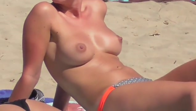couple junior college girl topless sports tanned attractive body Holkham nudist beach