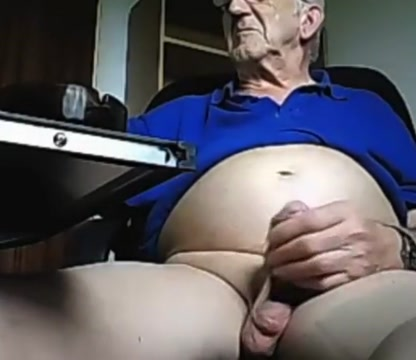grandpa stroke on webcam 10 Fucked with sex toy gifs