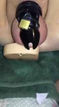 Caged sissy fuck and cum Adult massage and escort tulsa oklahoma