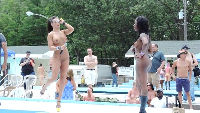 Twerking contest Nudes a Poppin 2017 Redhead hottie fucked hard